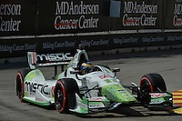 Sebastien Bourdais, Shell Houston GP, Reliant Park, Houston, TX USA 6/29/2014