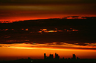 City skyline against late dusk sky..For larger JPEGs and TIFF versions contact EFFECTIVE WORKING IMAGE via our contact page at : www.photography4business.com