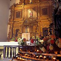 Interior Iglesia de Petare, Edo. Miranda, Venezuela.