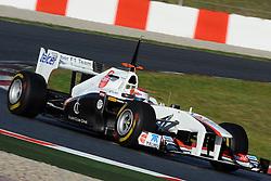 18.02.2011, Circuit de Catalunya, Barcelona, ESP, Formel 1 Test 3 2011,  im Bild Kamui Kobayashi (JPN), Sauber F1 Team EXPA Pictures © 2011, PhotoCredit: EXPA/ nph/  Dieter Mathis       ****** out of GER / SWE / CRO  / BEL ******