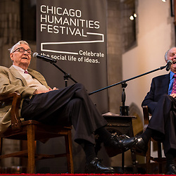 Alan Alda and EO Willson for Chicago Humanities Fest