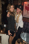 ZOE HARDMAN; DENISE VAN OUTEN, The launch of Beaver Lodge in Chelsea, a cabin bar and dance saloon, 266 Fulham Rd. London. 4 December 2014