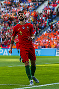Portugal midfielder Bruno Fernandes (16) during the UEFA Nations League match between Portugal and Netherlands at Estadio do Dragao, Porto, Portugal on 9 June 2019.
