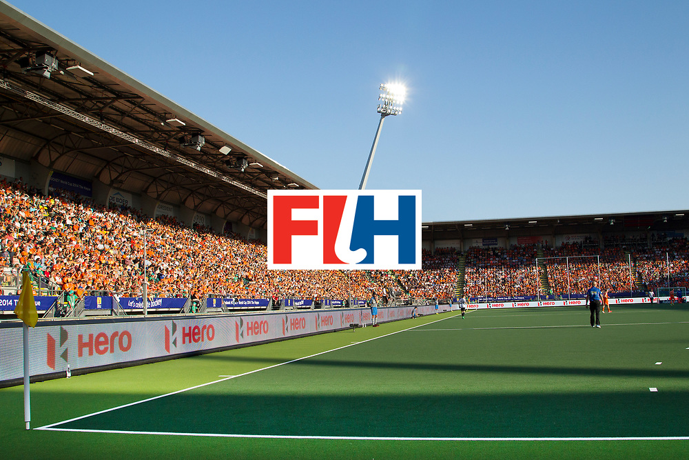 THE HAGUE - Rabobank Hockey World Cup 2014 - 2014-06-06 - MEN - Germany - The Netherlands  0-1 - OVERZICHT KYOCERA STADION<br /> Copyright: Willem Vernes