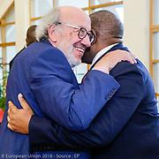 Louis Michel, Member of the European Parlaiement and member of Angola delegation of Angola