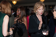 DAMBISA MOYO; JULIA PEYTON-JONES, Fundraising Gala for the Zeitz foundation and Zoological Society of London hosted by Usain Bolt. . London Zoo. Regent's Park. London. 22 November 2012.