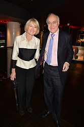 Michael Howard & Sandra Howard at the Costa Book of The Year Awards held at Quaglino's, 16 Bury Street, London England. 31 January 2017.