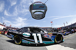 April 13, 2018 - Bristol, Tennessee, United States of America - April 13, 2018 - Bristol, Tennessee, USA: Ryan Truex (11) drives his car under Colossus TV during opening practice for the Fitzgerald Glider Kits 300 at Bristol Motor Speedway in Bristol, Tennessee. (Credit Image: © Chris Owens Asp Inc/ASP via ZUMA Wire)
