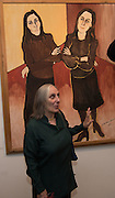 LIDIA GAZZO, Exhibition opening of paintings by Charlotte Johnson Wahl. Mall Galleries. London, 7 September 2015.