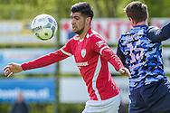 23-04-2016: Voetbal: Sportlust'46 v Zwaluwen: Woerden<br /> <br /> (L-R) Sercan Kurdal van Sportlust '46, Perry Bakx van vv Zwaluwen<br /> <br /> Foto: Gertjan Kooij