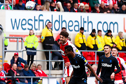 Matt Crooks of Rotherham United heads the ball downfield - Mandatory by-line: Ryan Crockett/JMP - 05/05/2019 - FOOTBALL - Aesseal New York Stadium - Rotherham, England - Rotherham United v Middlesbrough - Sky Bet Championship