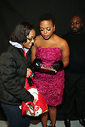 30 November 2010- New York, NY- Chrisette Michele autographs copies of her new album ' Let Freedom Reign ' at ' The Let Freedom Reign Tea Party ' held at 8 Bond Studio on Novemebr 30, 2010 in New    York City. Photo Credit: Terrence Jennings