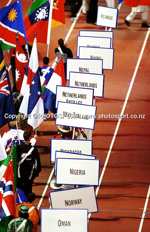 2000 Summer Olympic Games. Sydney, Australia. Photo: PHOTOSPORT