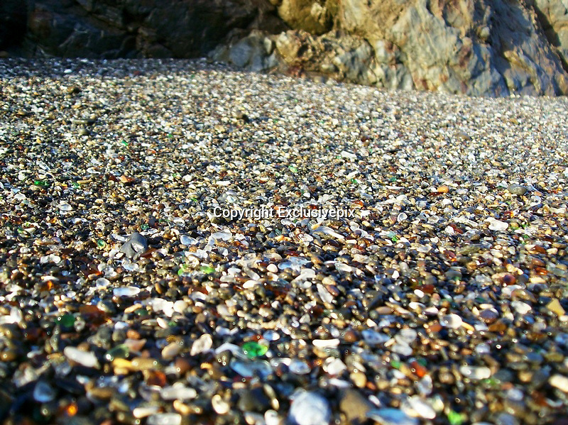 Fantastic Glass Beach of California<br /> <br /> Usually when a person throws out litter he/she influences the nature in a negative way. Heaps of litter are not useful, they spoil not only the air, soil and water but also harm the aesthetic look of the natural beauty. Could you ever think of any exceptions to this rule?