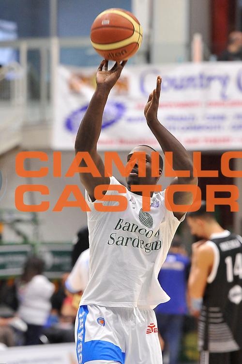DESCRIZIONE : Campionato 2014/15 Dinamo Banco di Sardegna Sassari - Virtus Granarolo Bologna<br /> GIOCATORE : Rakim Sanders<br /> CATEGORIA : Tiro Before Riscaldamento<br /> SQUADRA : Dinamo Banco di Sardegna Sassari<br /> EVENTO : LegaBasket Serie A Beko 2014/2015<br /> GARA : Dinamo Banco di Sardegna Sassari - Virtus Granarolo Bologna<br /> DATA : 12/10/2014<br /> SPORT : Pallacanestro <br /> AUTORE : Agenzia Ciamillo-Castoria / Luigi Canu<br /> Galleria : LegaBasket Serie A Beko 2014/2015<br /> Fotonotizia : Campionato 2014/15 Dinamo Banco di Sardegna Sassari - Virtus Granarolo Bologna<br /> Predefinita :