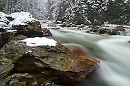 January Snows - North Fork Nooksack River Valley