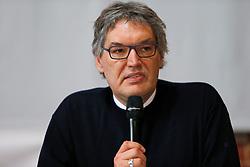 Am 23. Januar 2016 lud die Bürgerinitiative Lüchow-Dannenberg zu einem Seminartag über die Fehler im Verfahren um das geplante Atommüll-Endlager in Gorleben ein. Im Bild: Der häufig für den Widerstand tätige Rechtsanwalt Martin Lemke<br /> <br /> Ort: Lüchow<br /> Copyright: Andreas Conradt<br /> Quelle: PubliXviewinG
