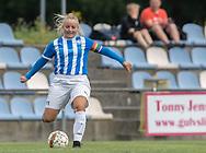 FODBOLD: Sofie Bredgaard (NFC/VIF) under kampen i Sjællandsserien mellem Ølstykke FC og Nykøbing/Vordingborg den 7. september 2019 på Ølstykke Stadion. Foto: Claus Birch