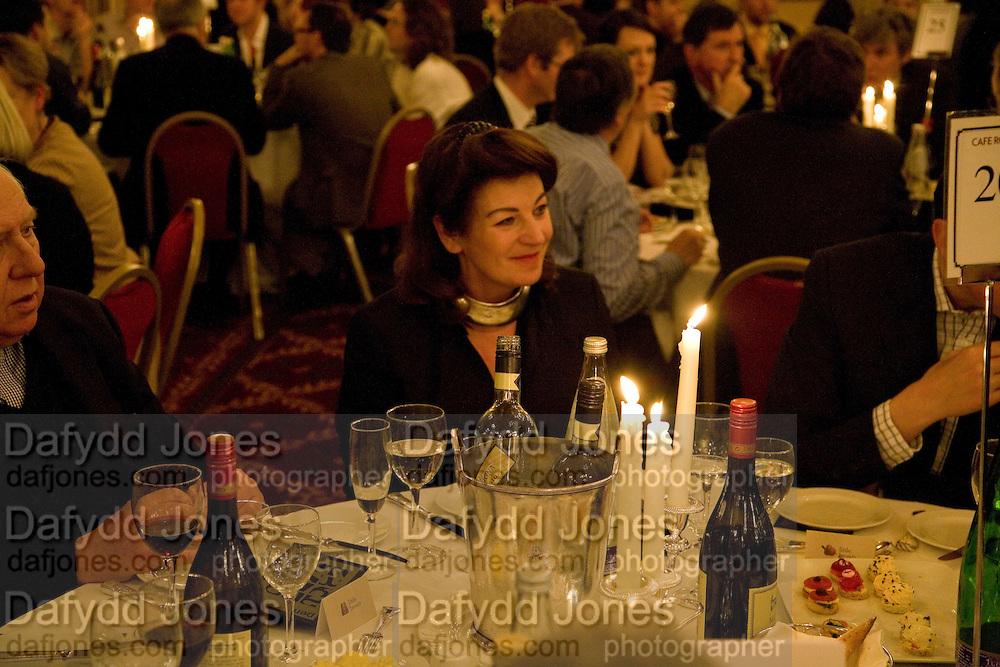 LADY SAATCHI, Colman Getty PEN QUIZ 2008, Cafe Royal. London. 24 November 2008 *** Local Caption *** -DO NOT ARCHIVE -Copyright Photograph by Dafydd Jones. 248 Clapham Rd. London SW9 0PZ. Tel 0207 820 0771. www.dafjones.com