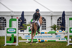 Van Hollebeke Julie, BEL, Mini Hoops<br /> Nationaal Tornooi LRV Ponies<br /> Zonnebeke 2019<br /> © Hippo Foto - Dirk Caremans<br />  29/09/2019