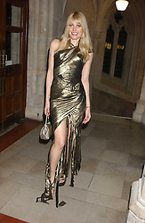 MEREDITH OSTROM at Andy & Patti Wong's annual Chinese New Year party, this year celebrating the year of the dog held at The Royal Courts of Justice, The Strand, London WC2 on 28th January 2006.<br /><br />NON EXCLUSIVE - WORLD RIGHTS