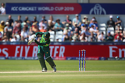 June 28, 2019 - Chester Le Street, County Durham, United Kingdom - South Africa's Quinton de Kock is bowled by Sri Lanka's Lasith Malinga    during the ICC Cricket World Cup 2019 match between Sri Lanka and South Africa at Emirates Riverside, Chester le Street on Friday 28th June 2019. (Credit Image: © Mi News/NurPhoto via ZUMA Press)