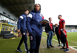 Bobby Reid of Bristol City arrives at The Pirelli Stadium for the Sky Bet Championship match with Burton Albion - Mandatory by-line: Robbie Stephenson/JMP - 10/03/2018 - FOOTBALL - Pirelli Stadium - Burton upon Trent, England - Burton Albion v Bristol City - Sky Bet Championship