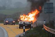 M25 Van Fire 111117