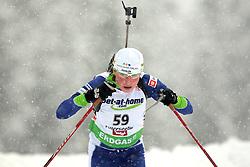 RAVNIKAR Dijana of Slovenia during the 7.5 km sprint of the e.on Ruhrgas IBU Biathlon World Cup on Friday December the 11th, 2009 in Hochfilzen - PillerseeTal, Austria. The second e.on Ruhrgas IBU World Cup stage is taking place in Hochfilzen - PillerseeTal, Austria until Sunday the 13th of December.  (Photo by Pierre Teyssot / Sportida.com)