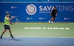 Sergiy Stakhovsky (UKR) in action during Final match of ATP Challenger Zavarovalnica Sava Slovenia Open 2017, on August 12, 2017 in Sports centre, Portoroz/Portorose, Slovenia. Photo by Vid Ponikvar / Sportida