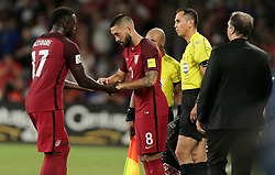 October 6, 2017 - Orlando, Florida, United States - Orlando, FL - Friday Oct. 06, 2017: Jozy Altidore, Clint Dempsey during a 2018 FIFA World Cup Qualifier between the men's national teams of the United States (USA) and Panama (PAN) at Orlando City Stadium. (Credit Image: © John Dorton/ISIPhotos via ZUMA Wire)