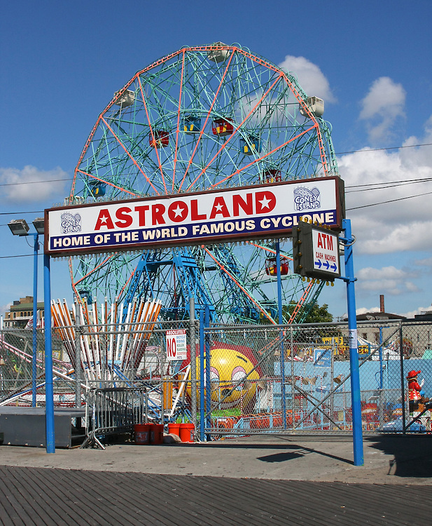 "The old ""Astroland"" as viewed from the boardwalk."
