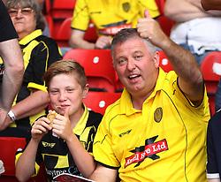 Burton Albion fans - Mandatory by-line: Jack Phillips/JMP - 06/08/2016 - FOOTBALL - The City Ground - Nottingham, England - Nottingham Forest v Burton Albion - EFL Sky Bet Championship