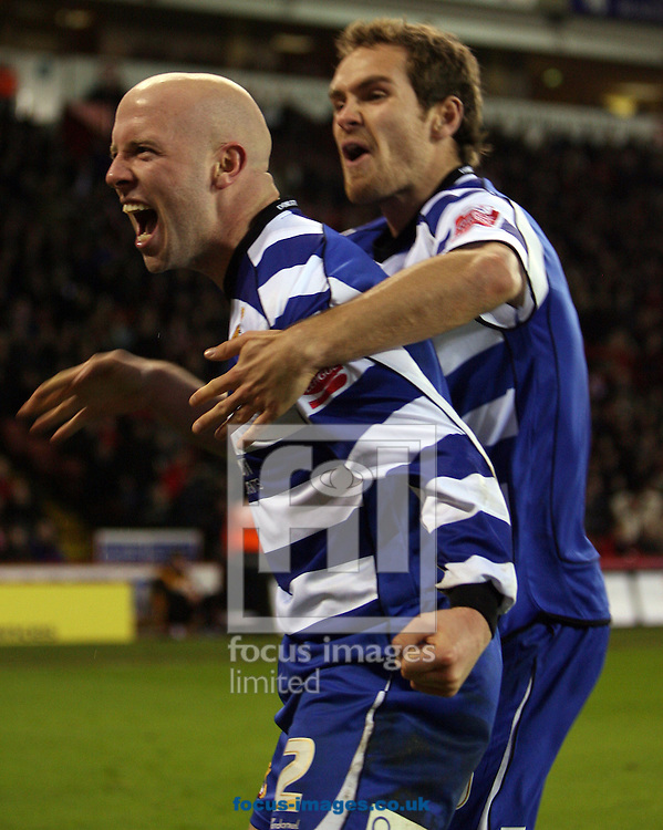 Sheffield - Tuesday January 27th, 2009: James O'Connor of Doncaster Rovers  Celebrating after a well deserved goal early in the second half during the Coca Cola Championship match at Bramall Lane, Sheffield. (Pic by Darren Walker/Focus