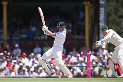 © Licensed to London News Pictures. 04/01/2014. Ben Stokes batting  during day 2 of the 5th Ashes Test Match between Australia Vs England at the SCG on 4 January, 2013 in Melbourne, Australia. Photo credit : Asanka Brendon Ratnayake/LNP