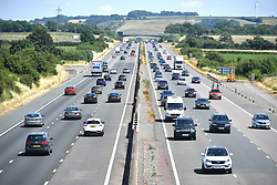 File photo dated 07/07/18 of traffic on a motorway. the Local Government Association (LGA) has said that vehicle-clocking devices should be banned after a surge in incidents that are putting motorists at risk of buying dangerous used cars with false mileage.