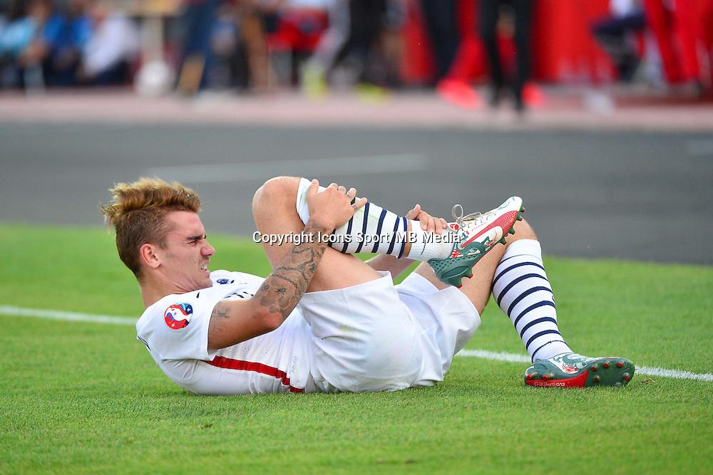 Antoine GRIEZMANN - 13.06.2015 - Albanie / France - Match Amical - Tirana<br />Photo : Dave Winter / Icon Sport