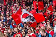 ROTTERDAM - 30-04-2017, AZ - Vitesse, finale KNVB beker, Stadion De Kuip, supporters