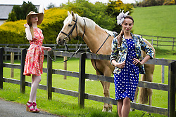 14/05/2013 Models Clara McSweeney and Daniella Moyles showcase the latest Ladies Day Racing Wear looks from labels for less retailer TK Maxx in The Paddocks, Sandymount. A recent survey revealed that entrants of Ladies Day events have increased their average outfit spend since last year by 45%. TK Maxx have a stunning selection of dresses available from as little as ?34.99 with up to 60% off the RRP. For more information, visit www.tkmaxx.ie  or find them on Facebook. Picture Andres Poveda