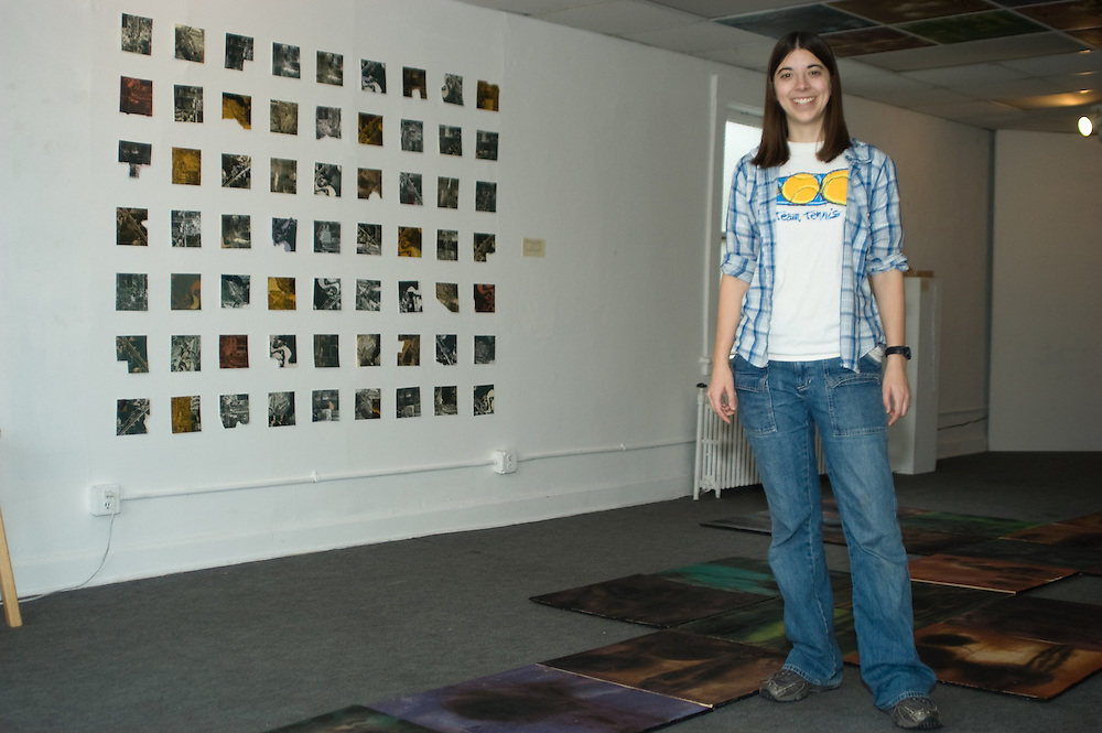 Controlled Burn, Master of Fine Arts Exhibition at the 734 University Gallery, University of Wisconsin-Madison.