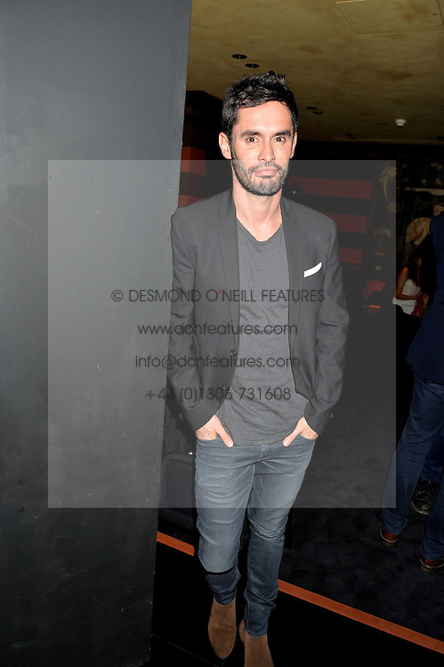 JEAN-BERNARD FERNANDEZ-VERSINI at the launch of Blakes Below at Blakes Hotel, 33 Roland gardens, London SW7 on 14th September 2016.