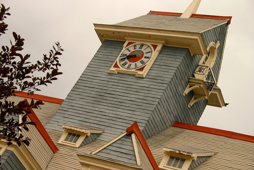 Tower of old Regina Firehall, Regina Saskatchewan
