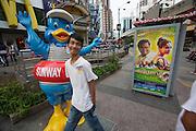 Malaysia, Kuala Lumpur. Bukit Bintang shopping and entertainment district.