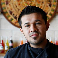Julio Delacruz pictured at Sangrias Restaurant and Wine Bar in South Bend. <br />