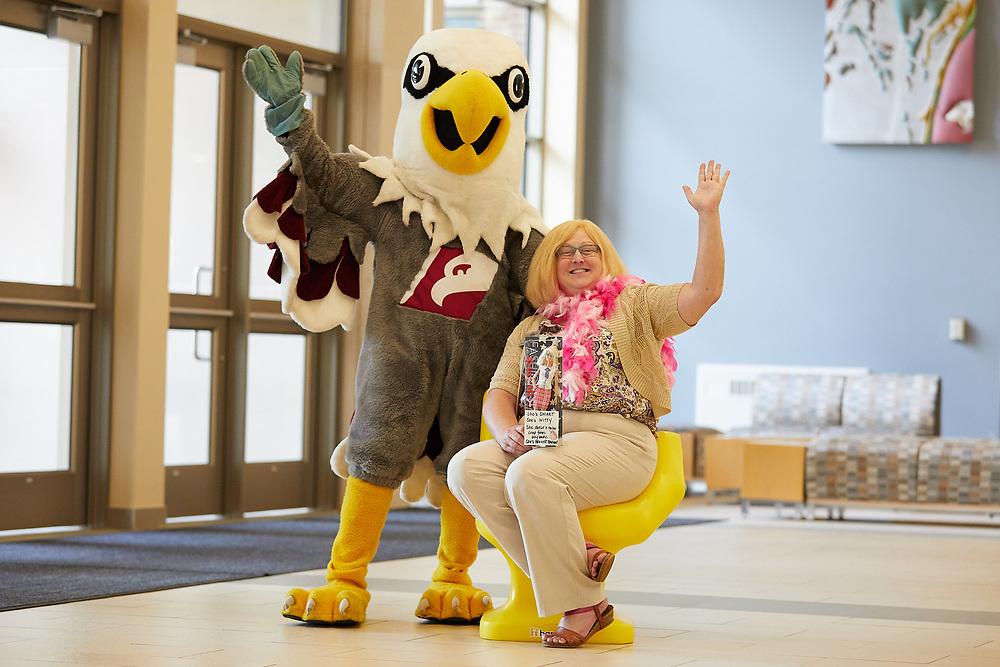Objects; Chair; Handshake; People; Staff; Type of Photography; Portrait; UWL UW-L UW-La Crosse University of Wisconsin-La Crosse; Employment; Career Services