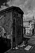 Marie Laveau's Tomb, St. Louis Cemetary, New Orleans, Louisiana