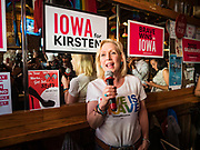 07 JUNE 2019 - DES MOINES, IOWA: Sen. Gillibrand campaigned at Capital City Pride Fest in Des Moines. She is in Iowa this weekend to support her candidacy to be the Democratic nominee for the US Presidency. Iowa traditionally hosts the the first selection event of the presidential election cycle. The Iowa Caucuses will be on Feb. 3, 2020.             PHOTO BY JACK KURTZ