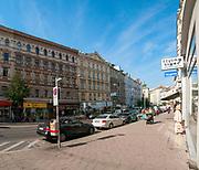 Landstrasser Hauptstrasse street view, Vienna, Austria