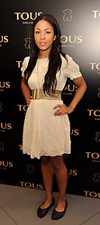 Actress Kathryn Drysdale at a party to announce Kylie Minogue as The Face of Tous held at their store 260 Regent Street, London on 8th June 2010.