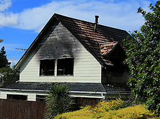 Auckland-Glendene house destroyed by fire
